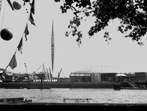 Festival of Britain on the South Bank in 1951 (Courtesy of Creative Commons licence 2.0)
