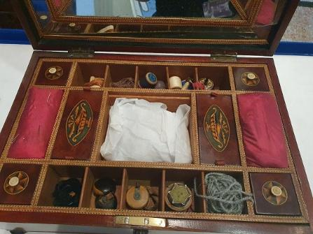 Mysterious object in an antique sewing box