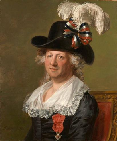 Chevalier d'Eon's portrait dates from 1792 and is the earliest known painted portrait of a transvestite.