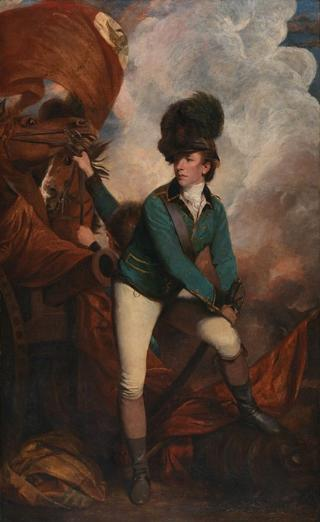 Colonel Banastre Tarleton by Sir Joshua Reynolds, 1782 (oil on canvas). Courtesy of the National Gallery, London