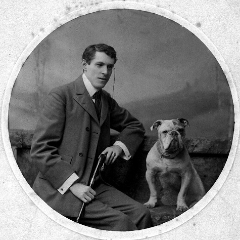 Arthur Dudley Yorke was a godfather of Betty Horsfall, but he died young in 1910, leaving her a large walnut bureau and a red lacquer desk.