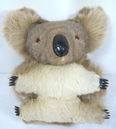 1960's koala toy made with real fur