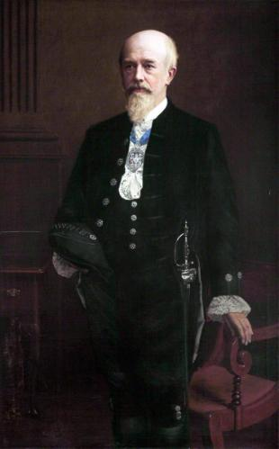 Professor Richard Caton (1842–1926), MD, FRCP, LLD, Pro-Chancellor of the University of Liverpool (1921–1924) British School Victoria Gallery & Museum