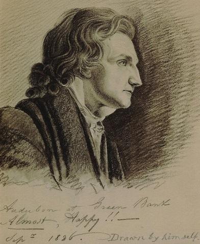 Audubon's Self Portrait, 1826