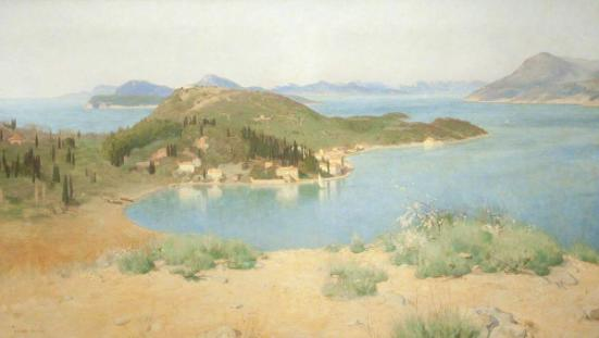 Islands of the Adriatic, 1906 (oil on canvas). Collection of the Harris Museum & Art Gallery, Preston