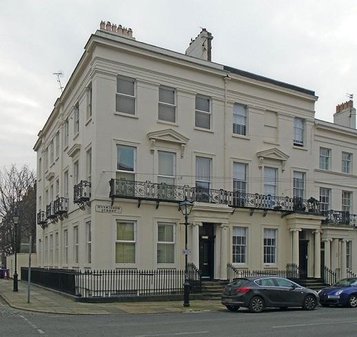 28 Huskisson Street, Liverpool. Photo by rodhullandemu via Wikimedia creative commons licence