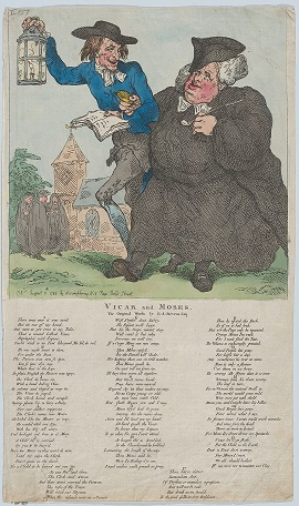 The Vicar and Moses, 1784 by Thomas Rowlandson (Collection of the Metropolitan Museum of Art, New York; Creative Commons licence)