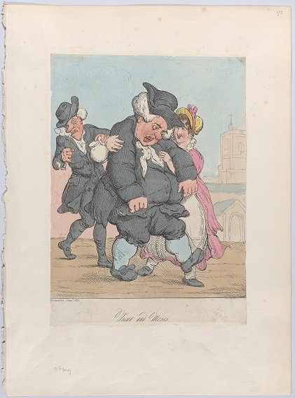 Vicar and Moses, 1815 by Thomas Rowlandson (Collection of the Metropolitan Museum of Art, New York; Creative Commons license)