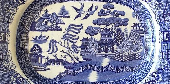 Traditional Willow Pattern (detail)