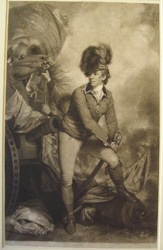 Mezzotint print after the Reynolds portrait. Engraving by John Raphael Smith, 1782. © Trustees of the British Museum
