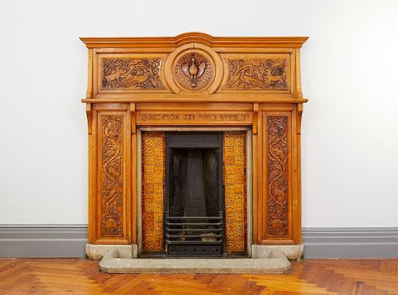 Arts & Crafts Fireplace, 1892