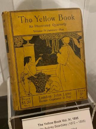 The Yellow Book Vol. IV, 1895 Cover by Aubrey Beardsley (1872 – 1898)