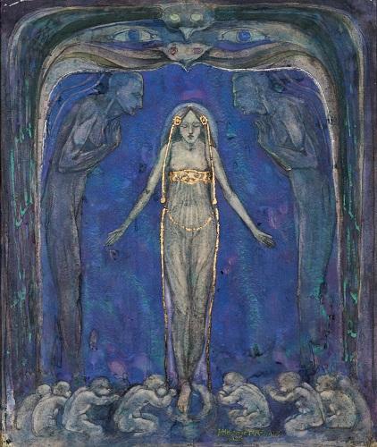 Ysighlu, 1895 By J. Herbert MacNair (1868 - 1921)
