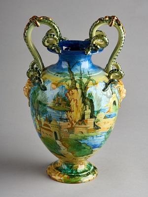 Cantagalli Vase, c. 1880