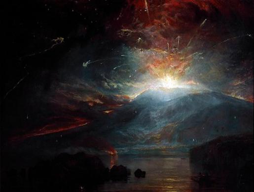 The Eruption of the Soufriere Mountains in the Island of St. Vincent - William Turner