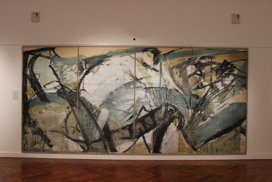 The Conflict of Man with Tides and Sands (Sketch), 1960 By Peter Lanyon (1918 – 1964)