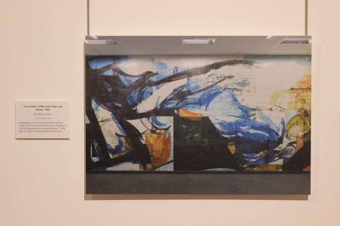The Conflict of Man with Tides and Sands, 1960 By Peter Lanyon