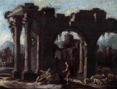 The Art of Ruin Display, Landscape, Rosa (follower)