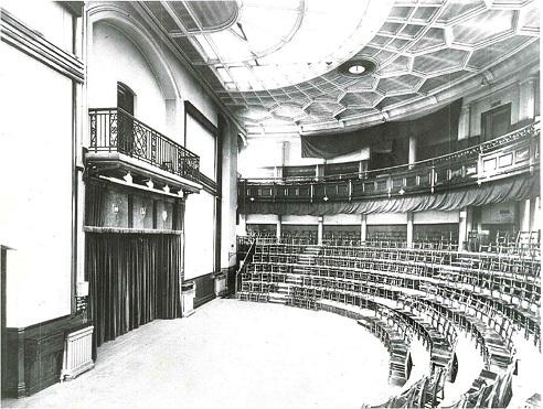 The Lecture Theatre circa 1892