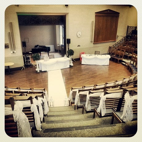Leggate Lecture Theatre Wedding