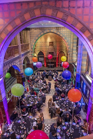 A corporate event at the VG&M including dinner in the Waterhouse Cafe