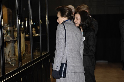 Princess Anne at the Opening of the VG&M in 2008