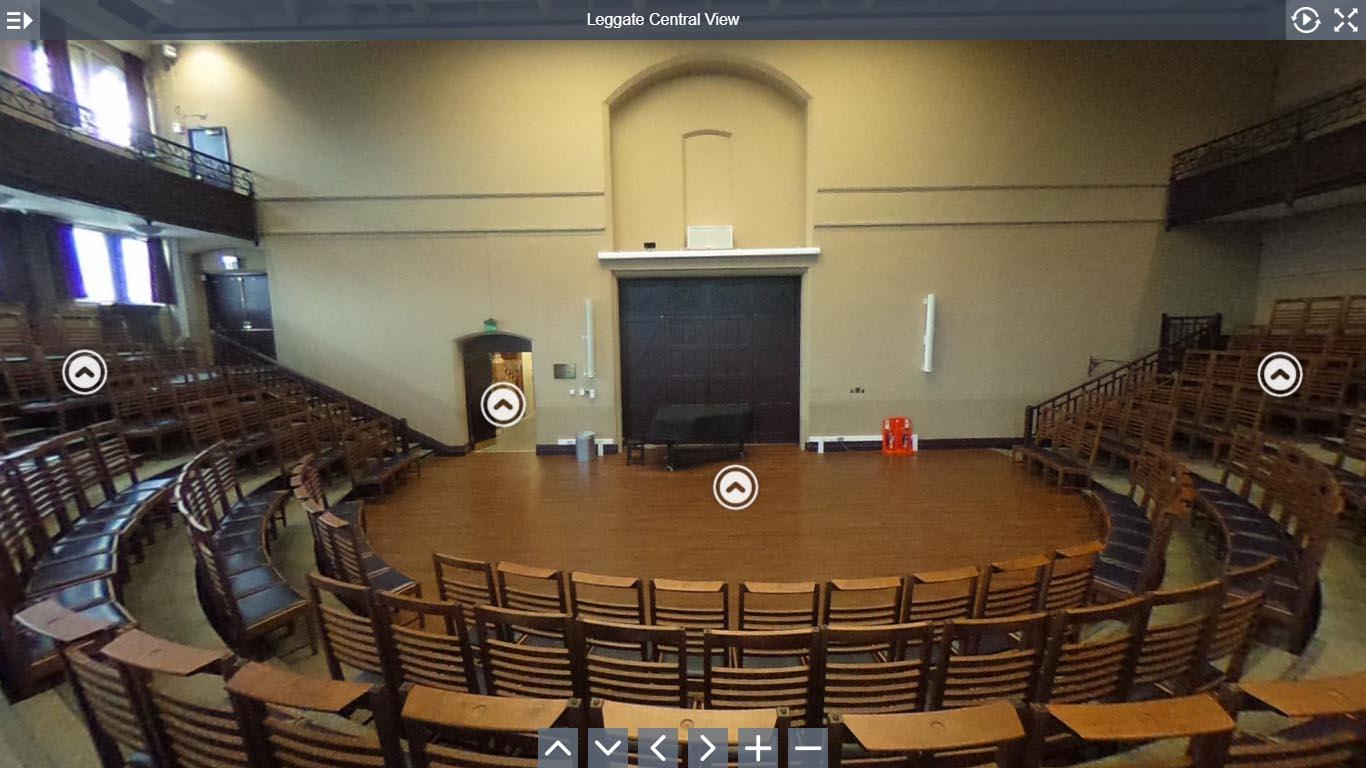 Leggate Theatre virtual tour