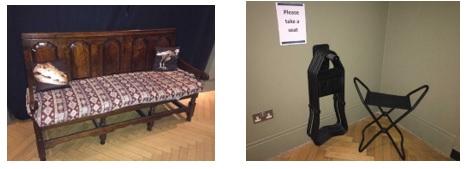 Seats & stools around the VG&M