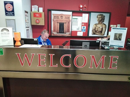 The VG&M Welcome Desk in reception