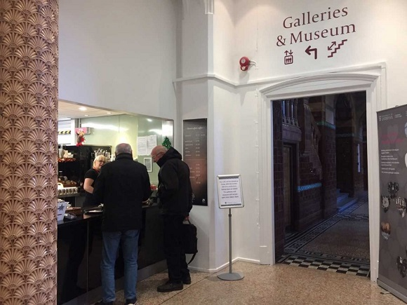 The Waterhouse Cafe serving point