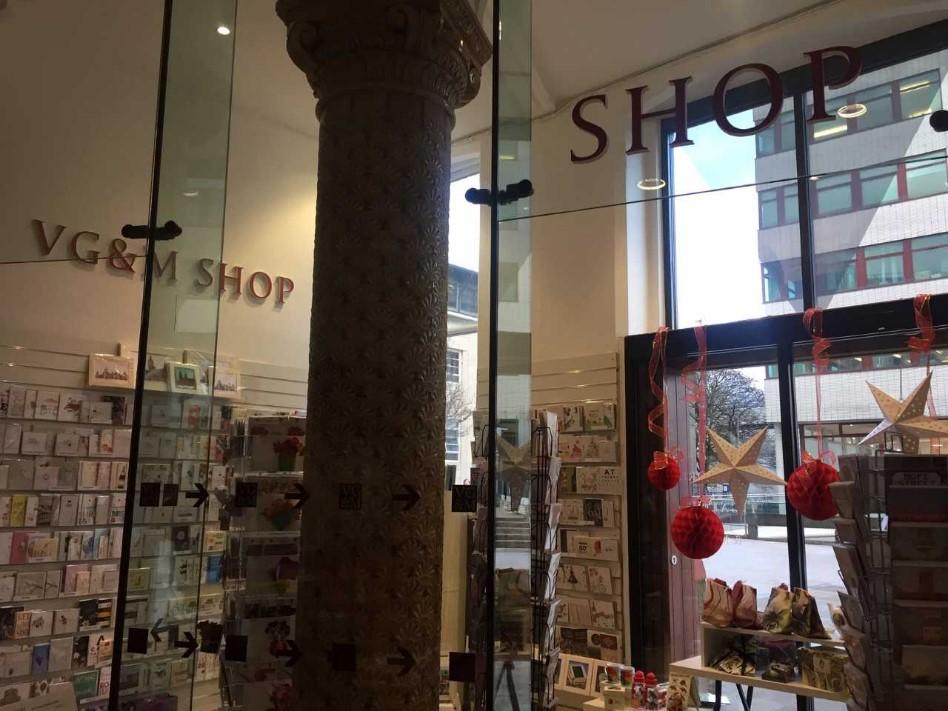 The VG&M shop