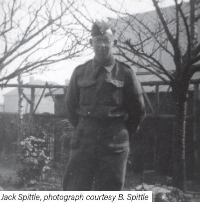 Jack Spittle, photograph courtesy B. Spittle