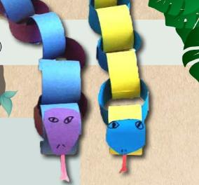 Jungle Snakes Craft