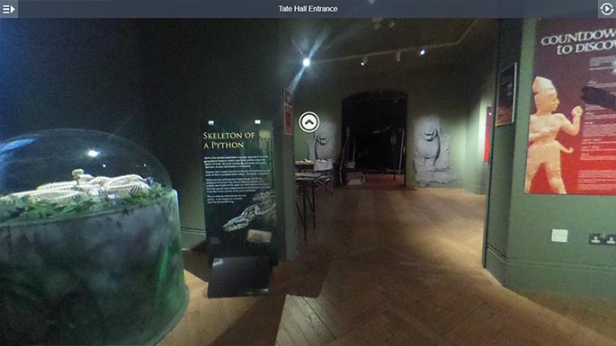 Take a virtual tour of the Tate Hall
