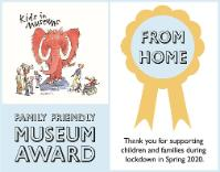 Family Friendly Museum Award From Home