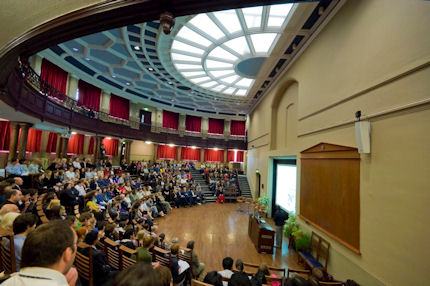 A conference held in the Leggate Lecture Theatre